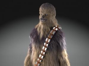 Star Wars Chewbacca 3dsmax