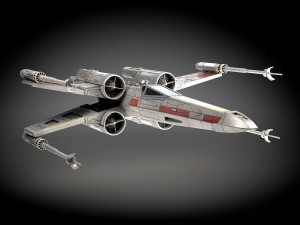 Star Wars X-Wing Fighter mk1