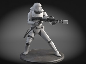 Star Wars First Order Flametrooper