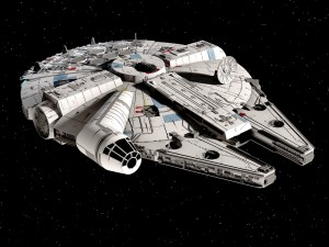 Star Wars Millenium Falcon v1