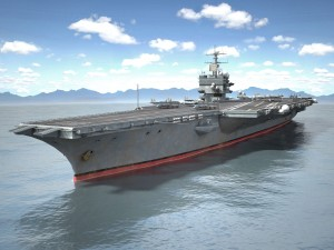 USS Enterprise CVN-65 Carrier