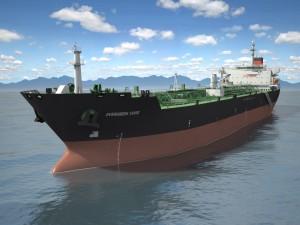Oil Tanker Ship Evergreen State
