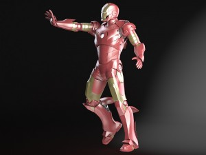 Iron Man Tony Stark Rigged