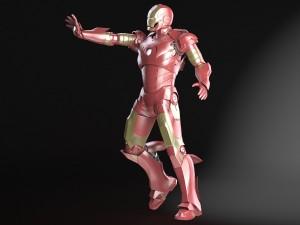 Iron Man Tony Stark Rigged