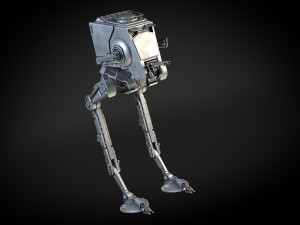 Star Wars AT-ST transporter