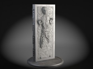 Star Wars Han Solo in Carbonite