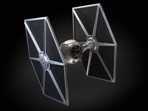 Star Wars Tie Fighter with Interior