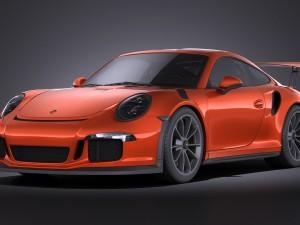 Porsche 911 GT3RS 2016 VRAY