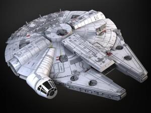 StarWars Millennium Falcon with Interior