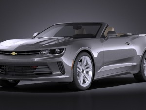 Chevrolet Camaro RS convertible 2016 VRAY