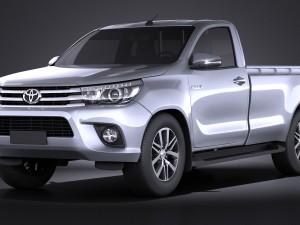 Toyota Hilux Regular Cab 2016