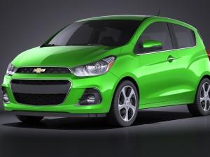 Chevrolet Spark 2016 VRAY