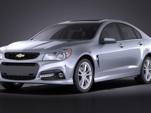 Chevrolet SS 2014 VRAY