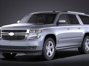 Chevrolet Suburban 2015 VRAY