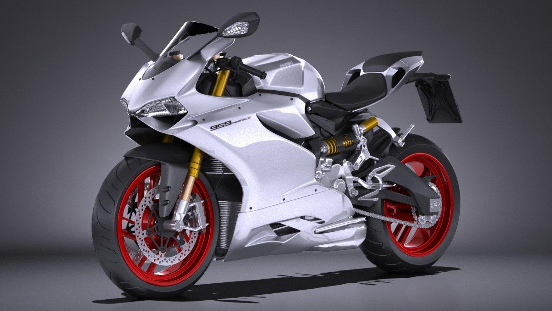 Ducati Panigale 959 2016 3D Model in Motorcycle 3DExport