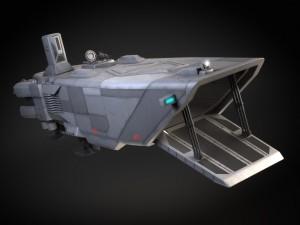 Star Wars Transporter - Atmospheric Assault Lander