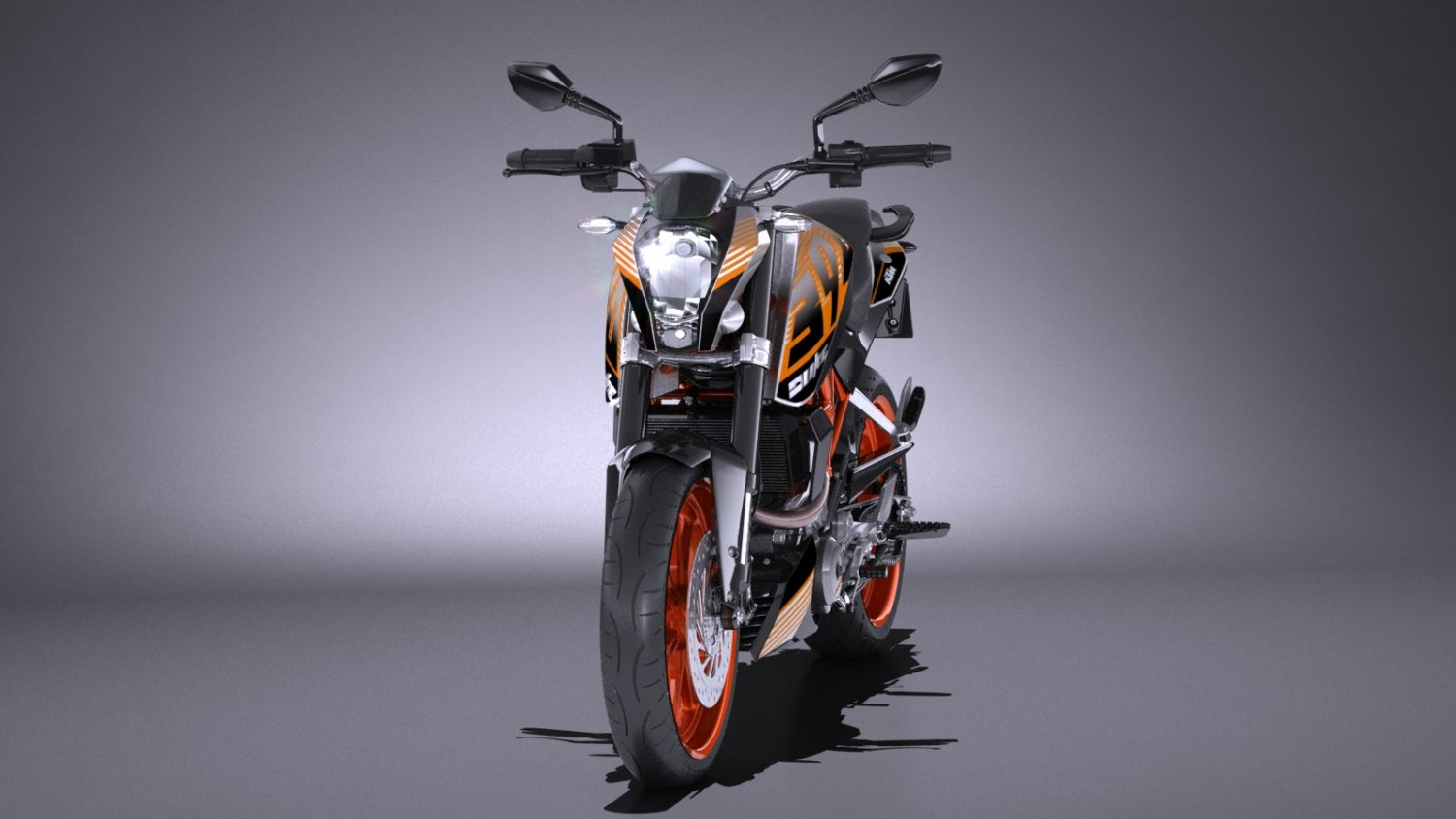 Ktm Duke 390 2016 3d Model In Motorcycle 3dexport