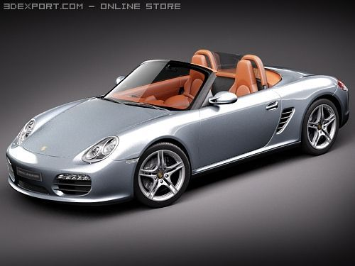 Porsche Boxster S 2010 3D Model
