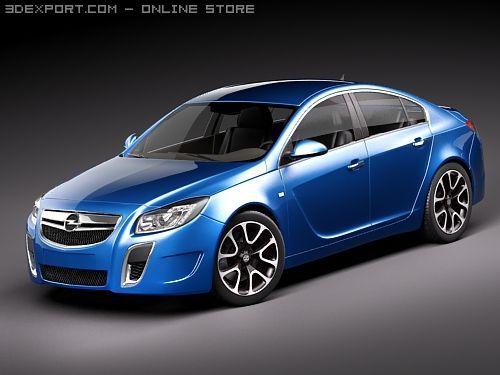 Opel Insignia OPC sedan 3D Model