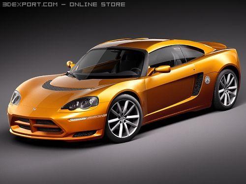 Dodge Circuit EV 3D Model