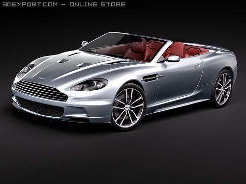 Aston Martin DBS Volante 2010 3D Model