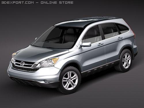 Honda CRV 2010 3D Model