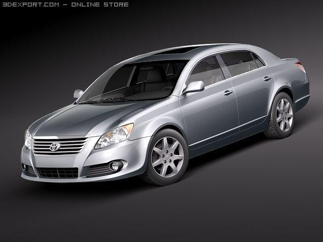 Toyota Avalon 3D Model