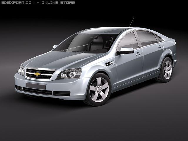 Chevrolet Caprice 2011 3D Model