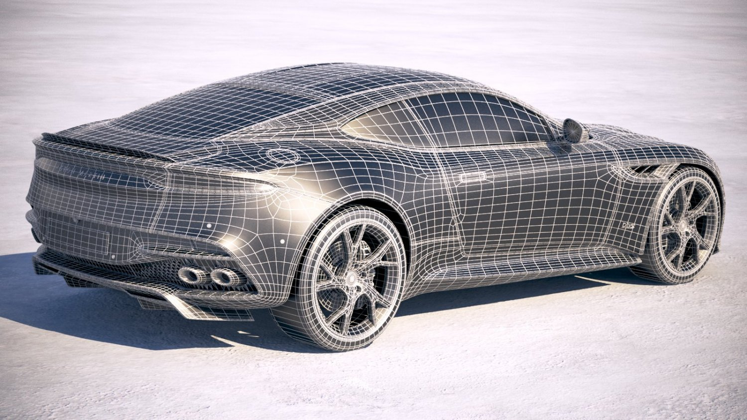 Supercars Gallery Aston Martin Dbs Superleggera Blueprint