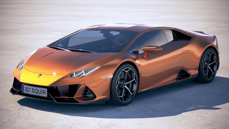 Lamborghini Huracan Evo 2019 3d Model In Sport Cars 3dexport