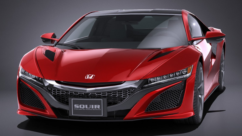 LowPoly Honda NSX 2018 3D Model in Sport Cars 3DExport