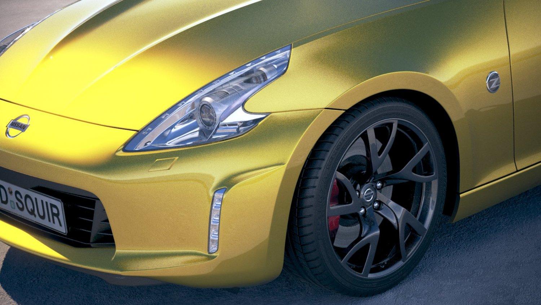 2017 Nissan 370z Convertible >> Nissan 370z Convertible 2017 3d Model In Sport Cars 3dexport