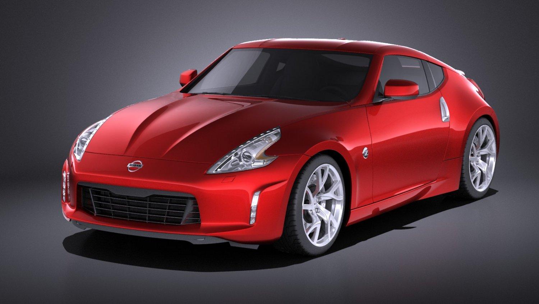 Nissan 370z 2017 VRAY 3D Model in Sport Cars 3DExport