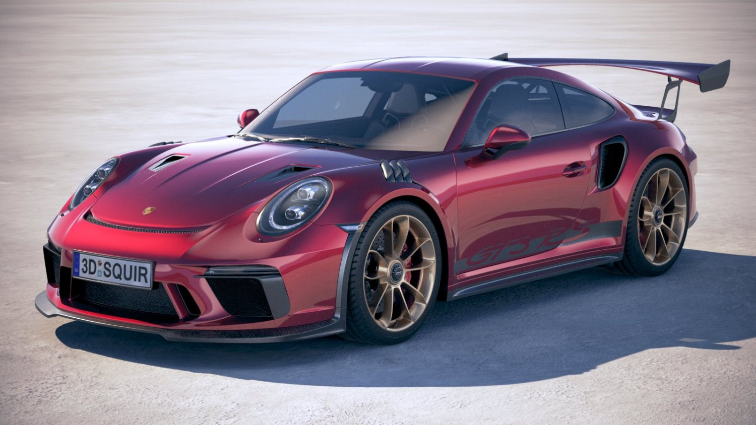 Porsche 911 GT3 RS 2019 3D Model in Sport Cars 3DExport