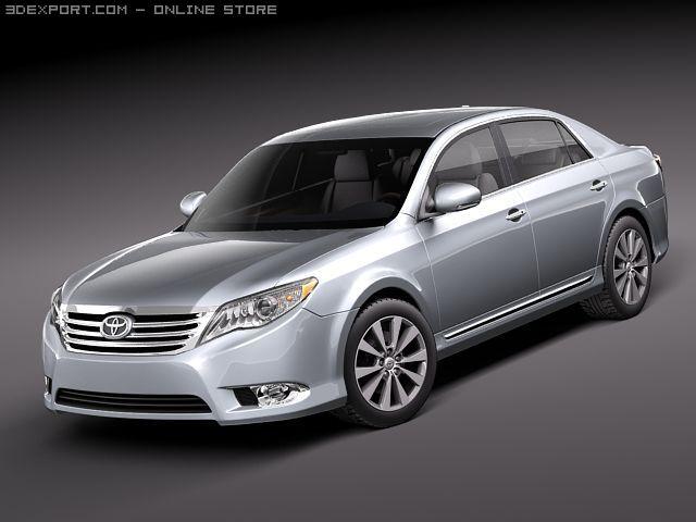 Toyota Avalon 2011 3D Model