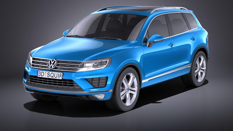 Volkswagen Touareg 2015 Vray 3d Model In Suv 3dexport