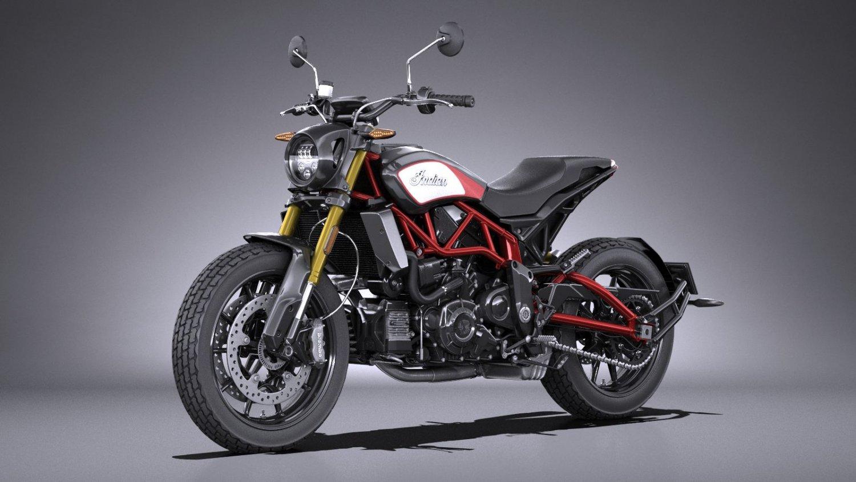 Indian Ftr 1200 >> Indian Ftr 1200 S 2019 3d Model In Motorcycle 3dexport