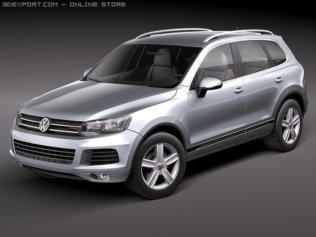 Volkswagen Touareg 2011 3D Model