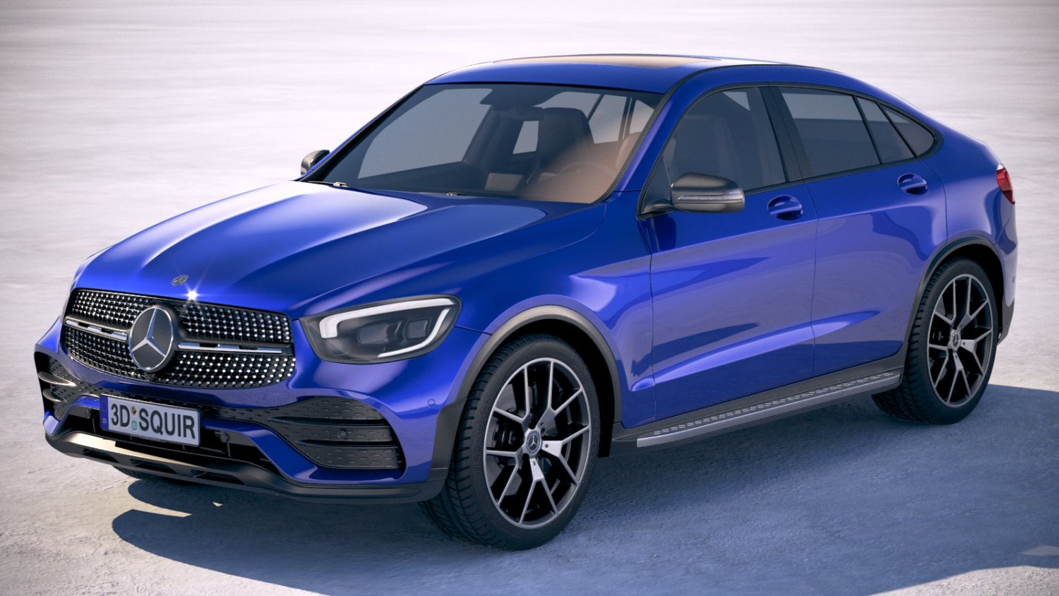 Mercedes Benz Glc Coupe 2020 3d Modell In Suv 3dexport