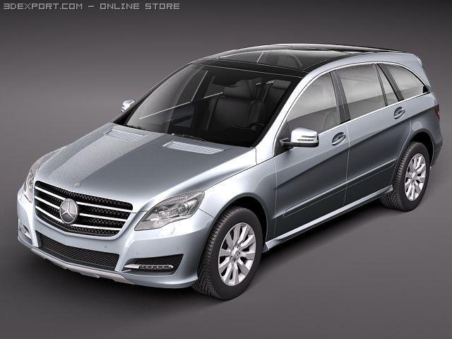 Mercedes Benz R class 2011 3D Model
