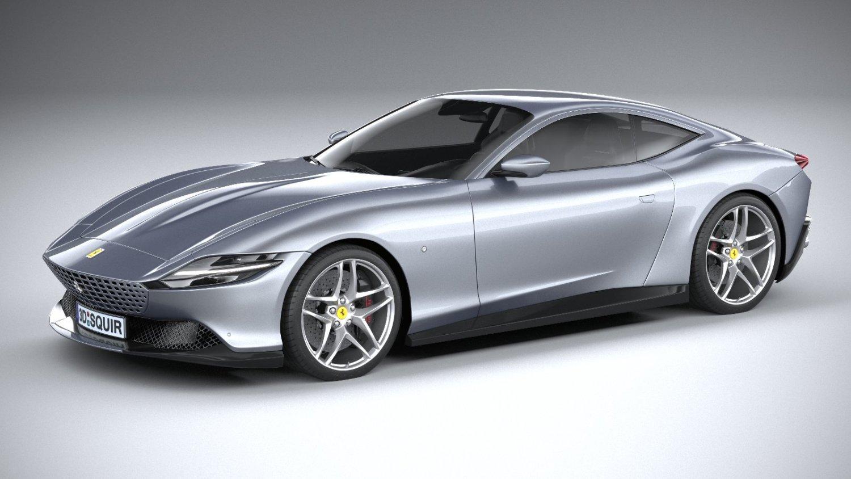 Ferrari Roma 2020 3d Model In Sport Cars 3dexport