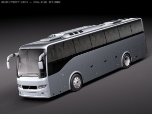 Volvo 9700 Bus Coach