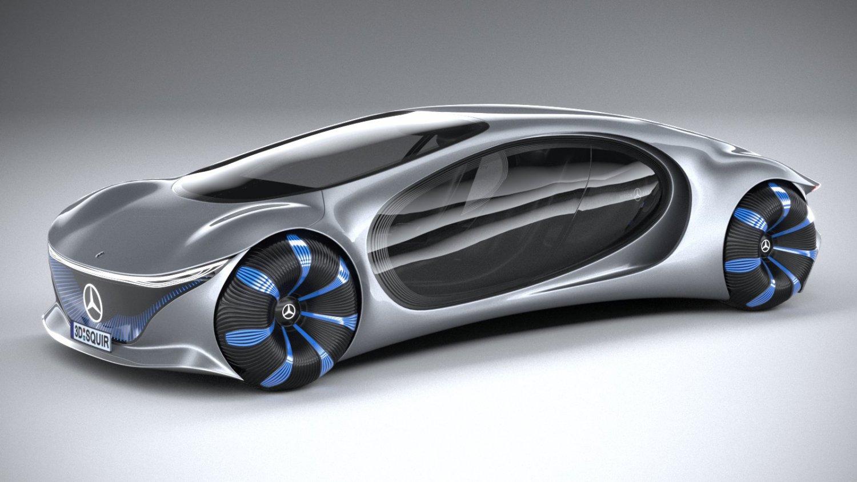Mercedes Benz Vision Avtr Concept 2020 3D Model in Concept ...