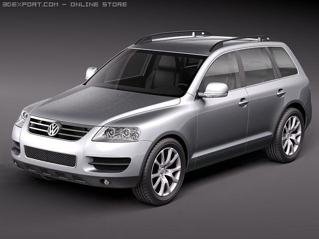 Volkswagen Touareg 2002  2007 3D Model