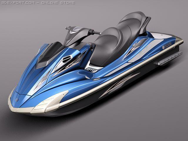 Yamaha FX HO 2011 3D Model