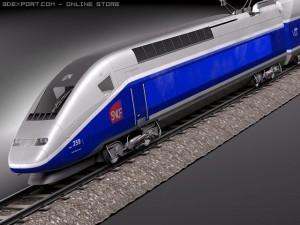 TGV Train 2011