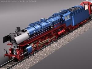 Steam Train Express Fseries BR 0310 1950