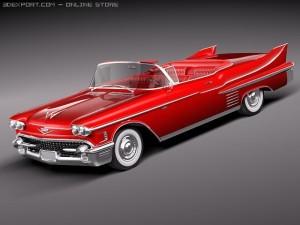 Cadillac Deville Convertible 1958
