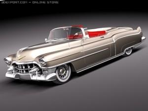 Cadillac Eldorado Deville Convertible 1953