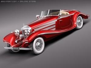 Mercedes 540K 1936